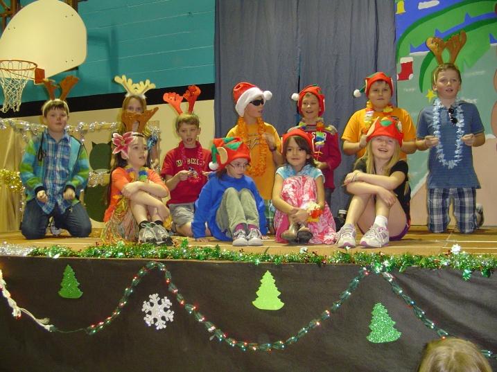 Mile 108 Elementary Christmas Concert