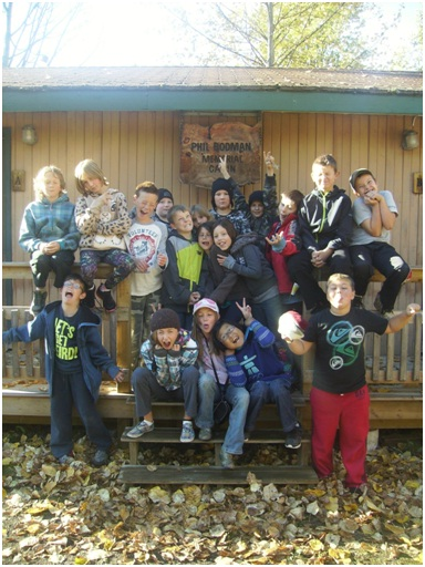 Horsefly's  grades 3-6 class learned a lot in a recent trip to Gavin Lake.
