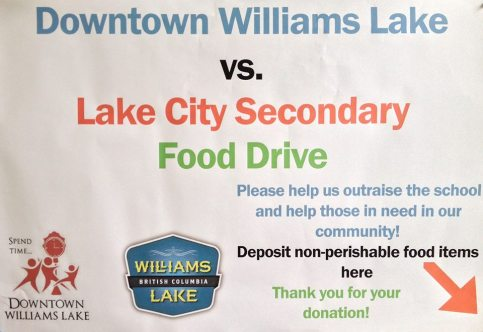 Williams Lake's Downtown BIA has gotten in on the Poverty Challenge this year.