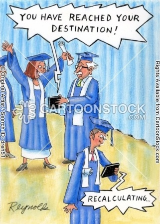 Graduation cartoon