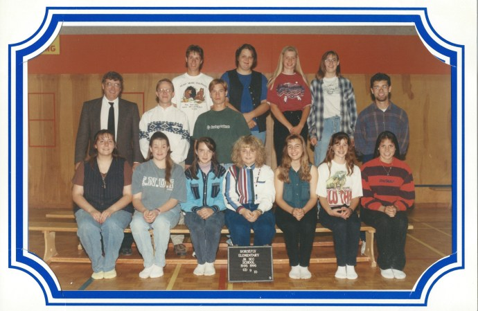 Horsefly Grade 9/10 Class 1995-96