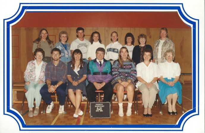Horsefly Staff 1995-96