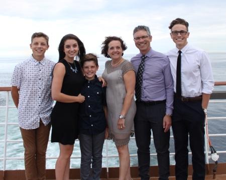 Thiessen family photo